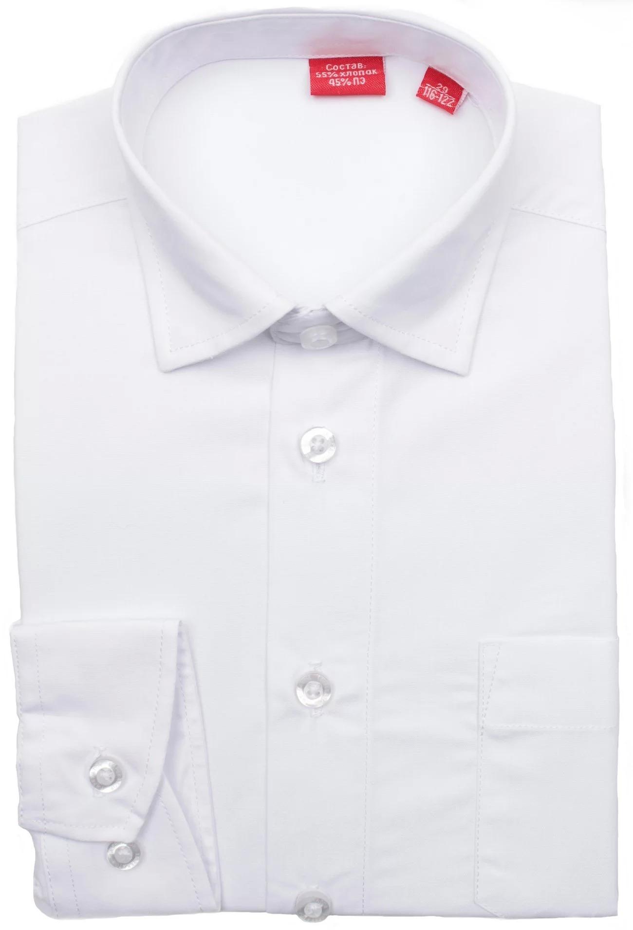 Сорочка мальчик, длинный рукав, белый. Артикул: PT2000Я BSPT2000Я