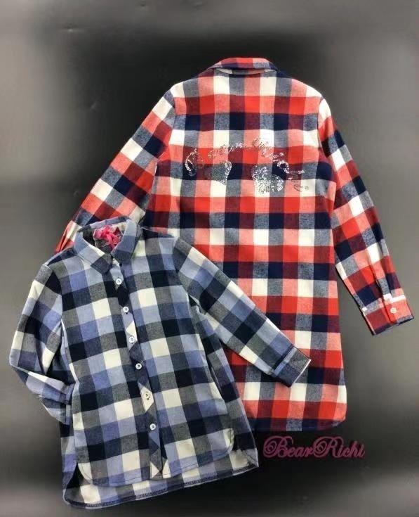 Рубашка для девочки ALLBH782808