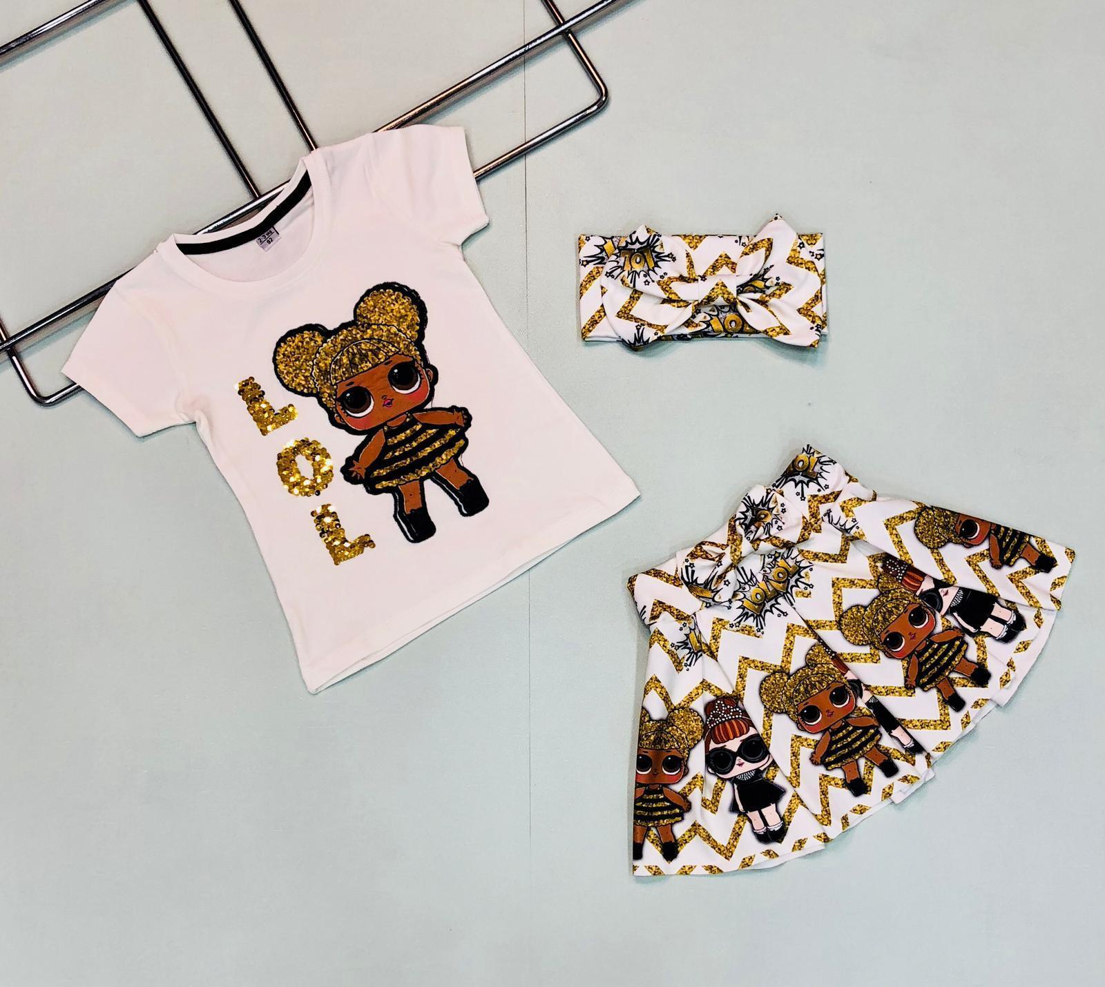Комплект для девочки ALL00770