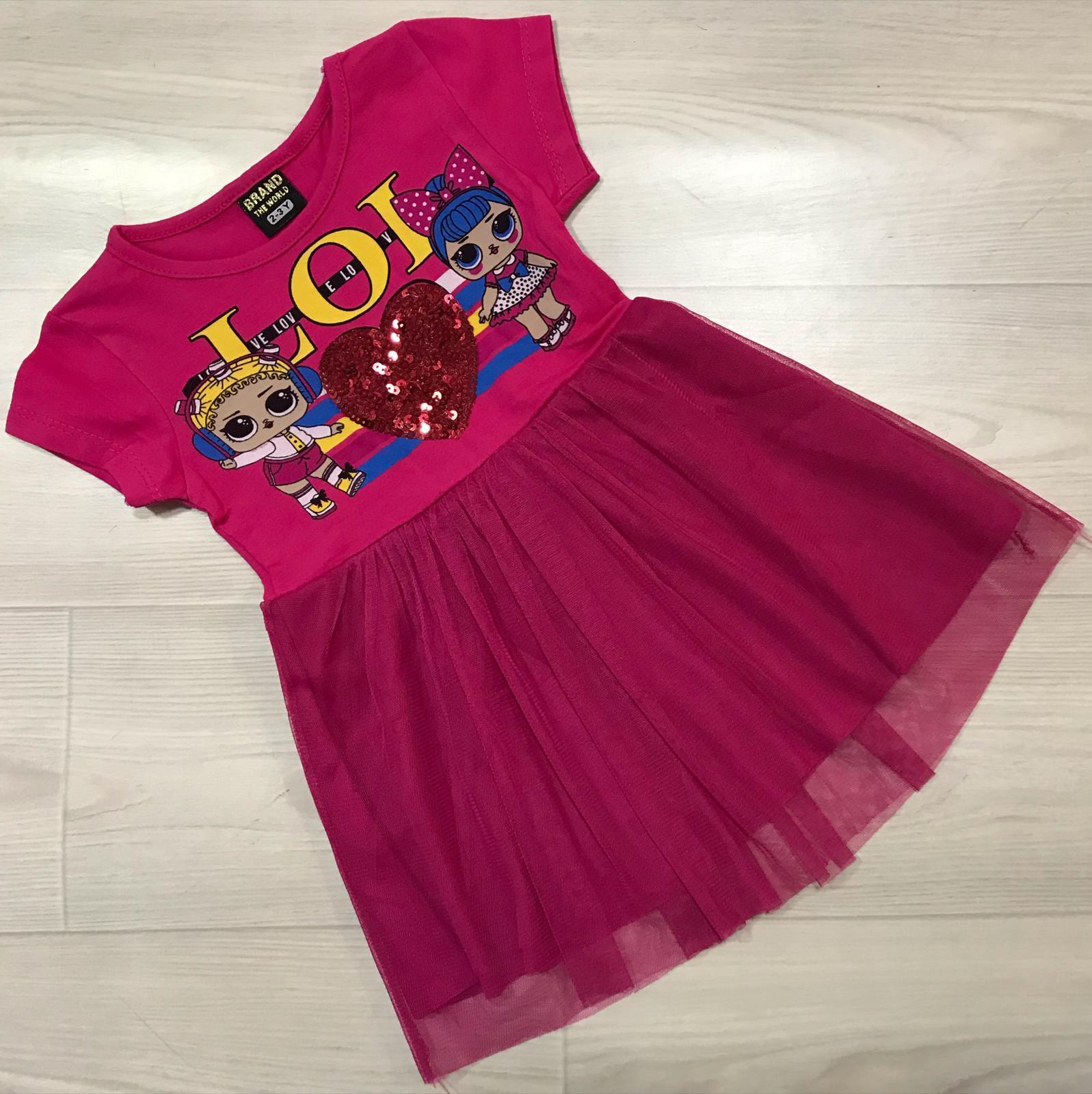 Платье для девочки ALL45-902