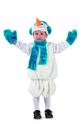 Снеговик мех