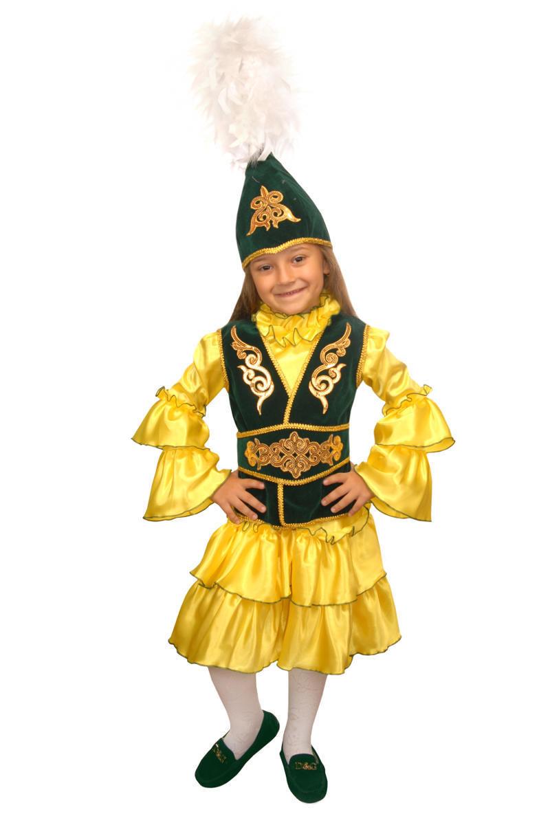 Казахская девочка