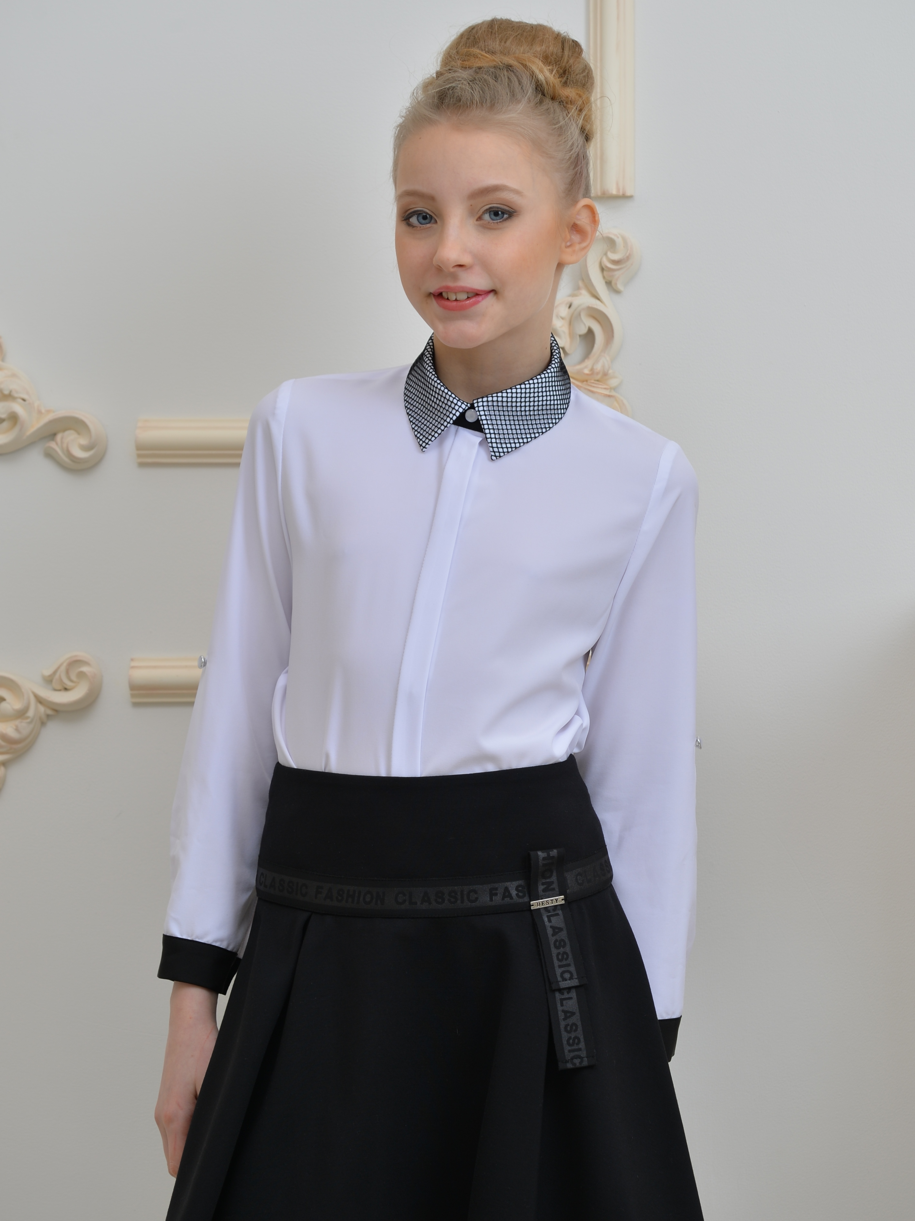 Блузка для девочки ALLDT008