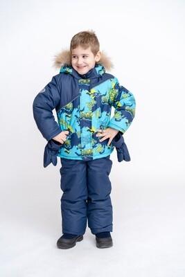 Комплект детский куртка + полукомбинезон