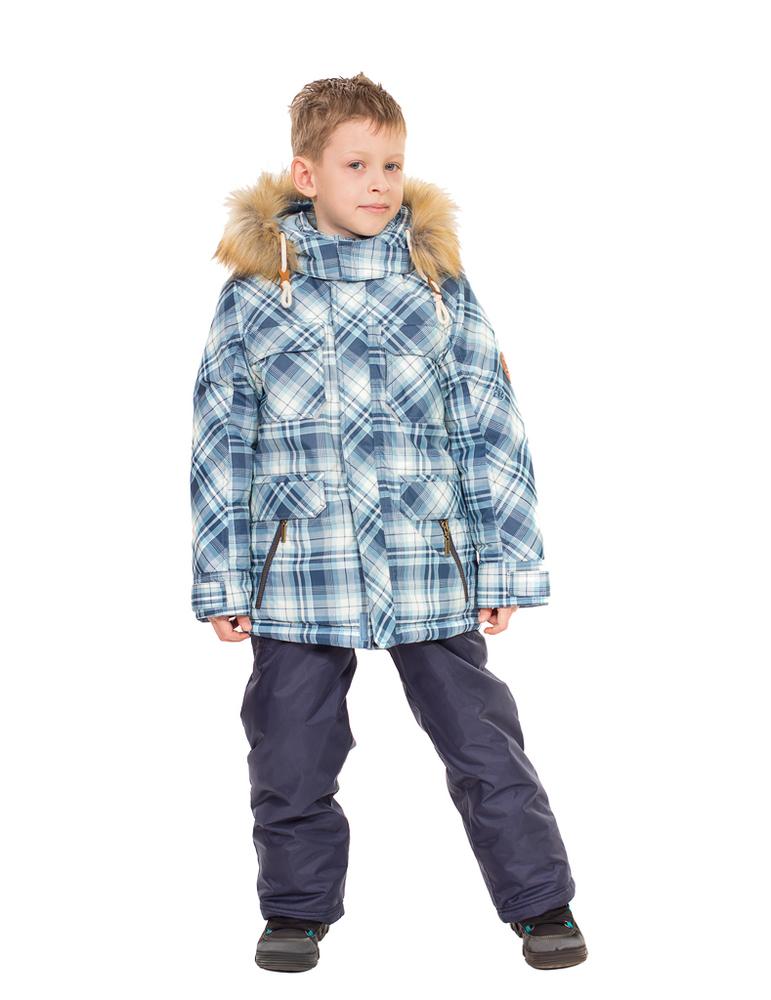 Комплект зимний для мальчика YS-КПК945син