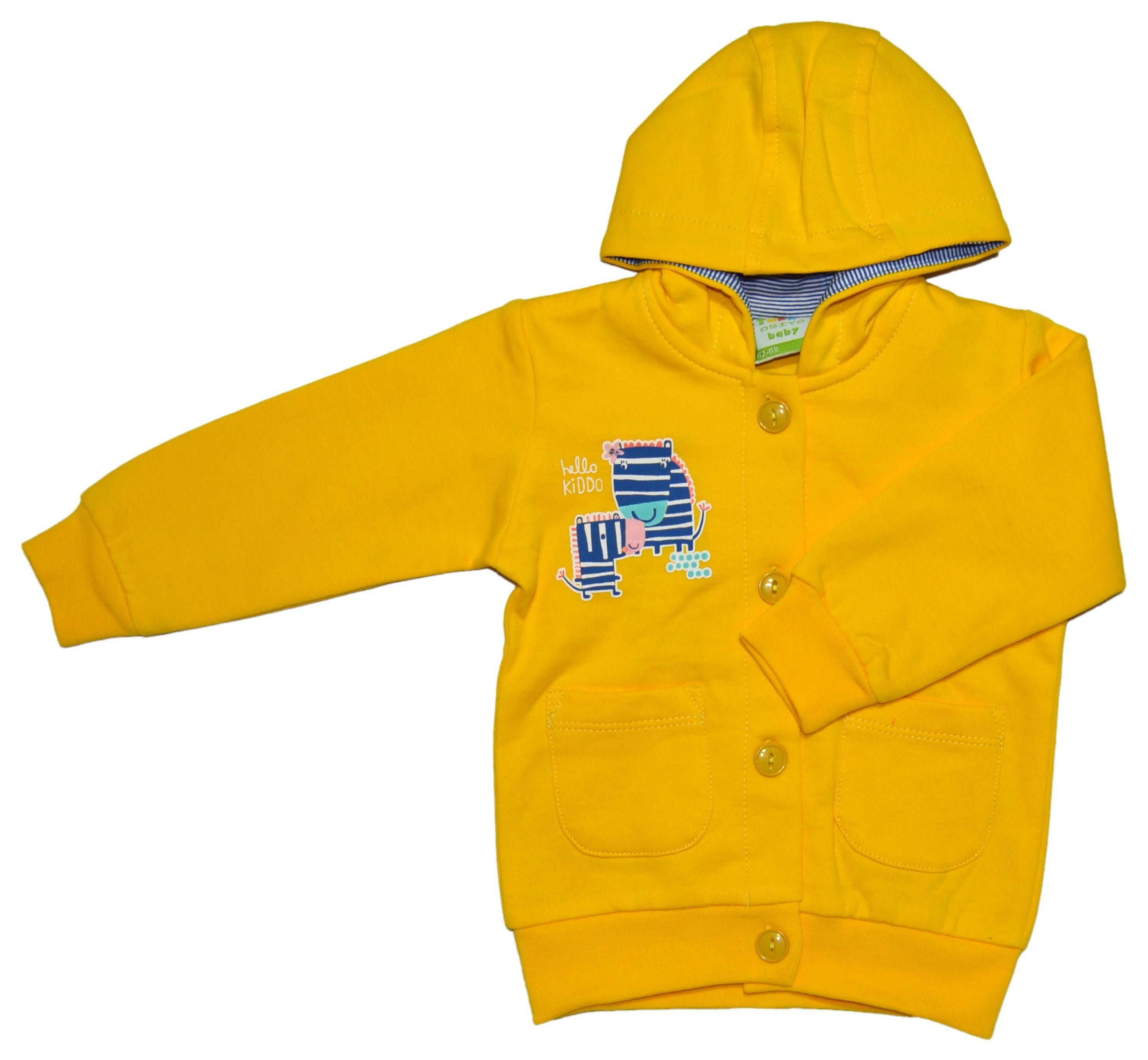 Кофта для новорожденных ALK-18-0117жел