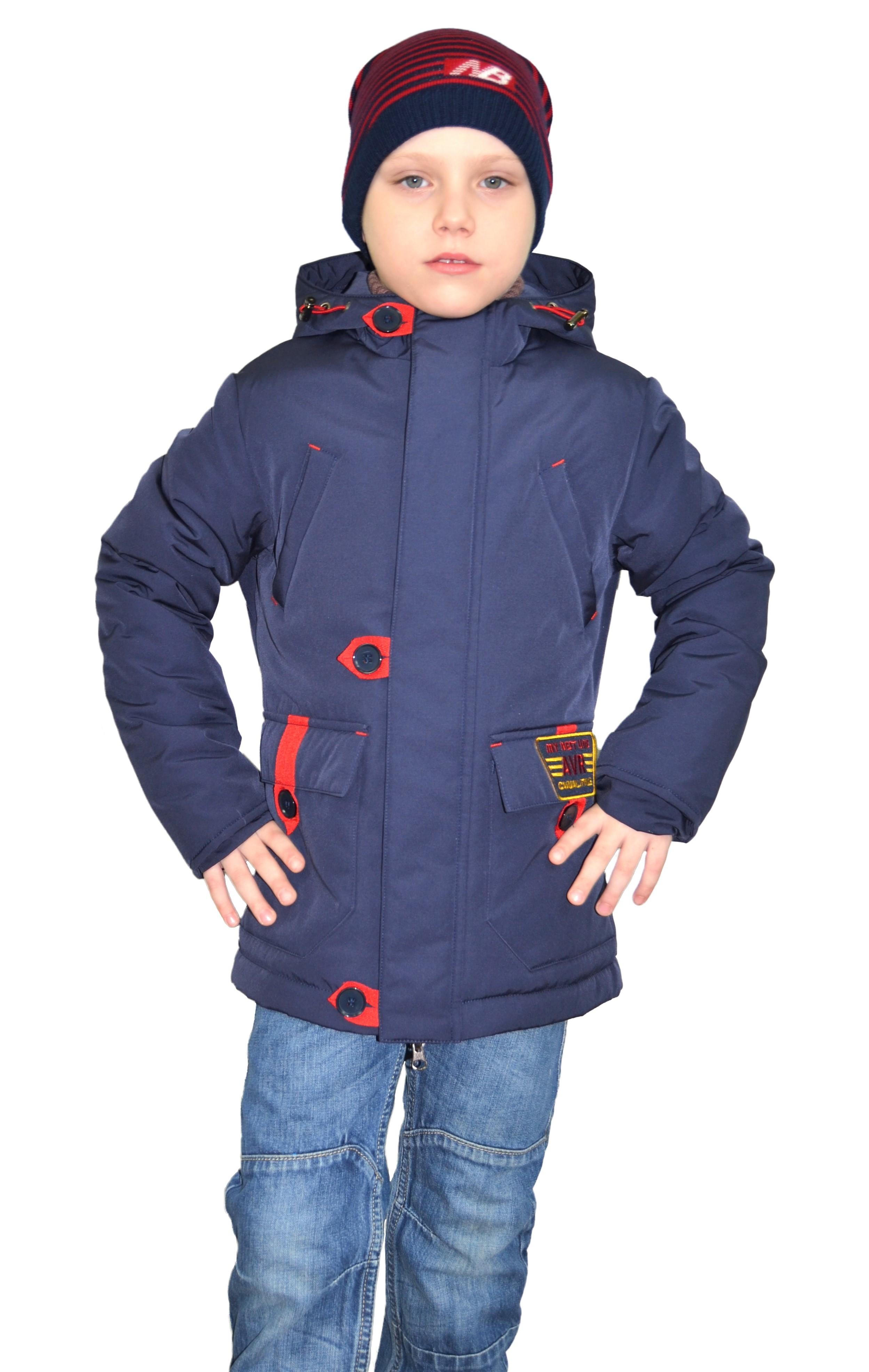 Куртка для мальчика YS-445-М-син