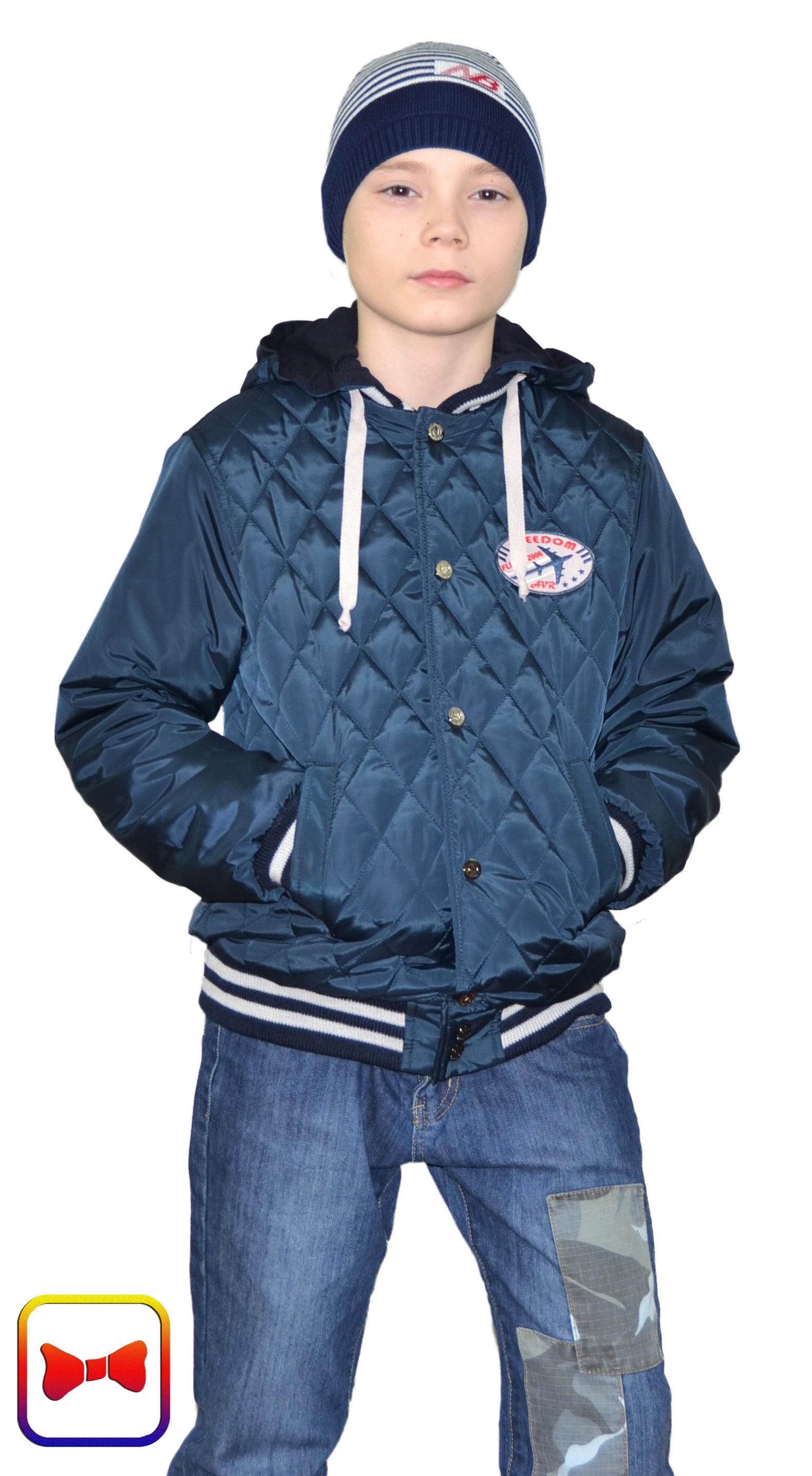 Куртка для мальчика YS-395-М-син