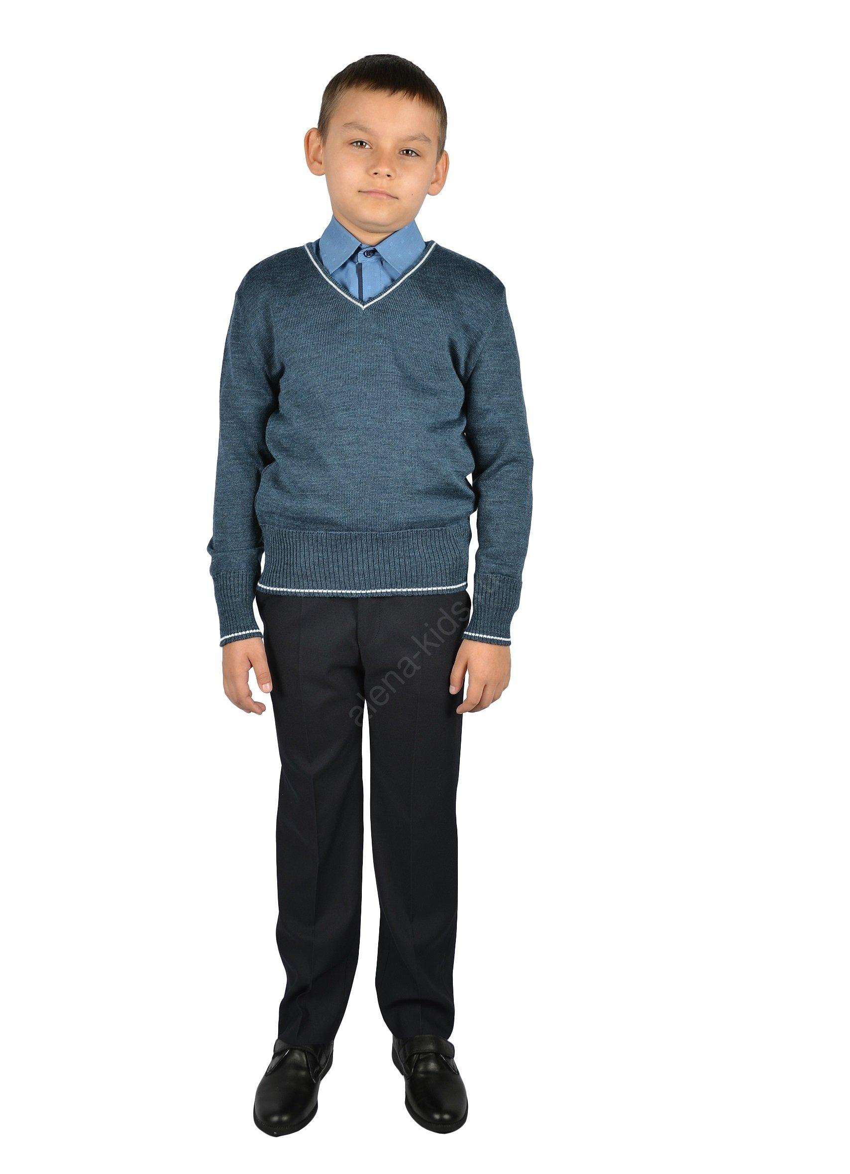 Джемпер для мальчика YSTT-ДД-3син