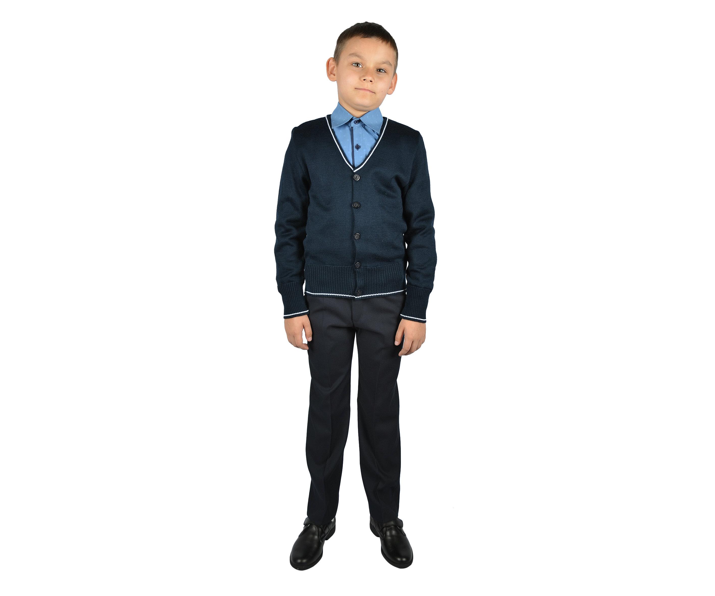 Жакет для мальчика YSTT-ЖКМ-3син