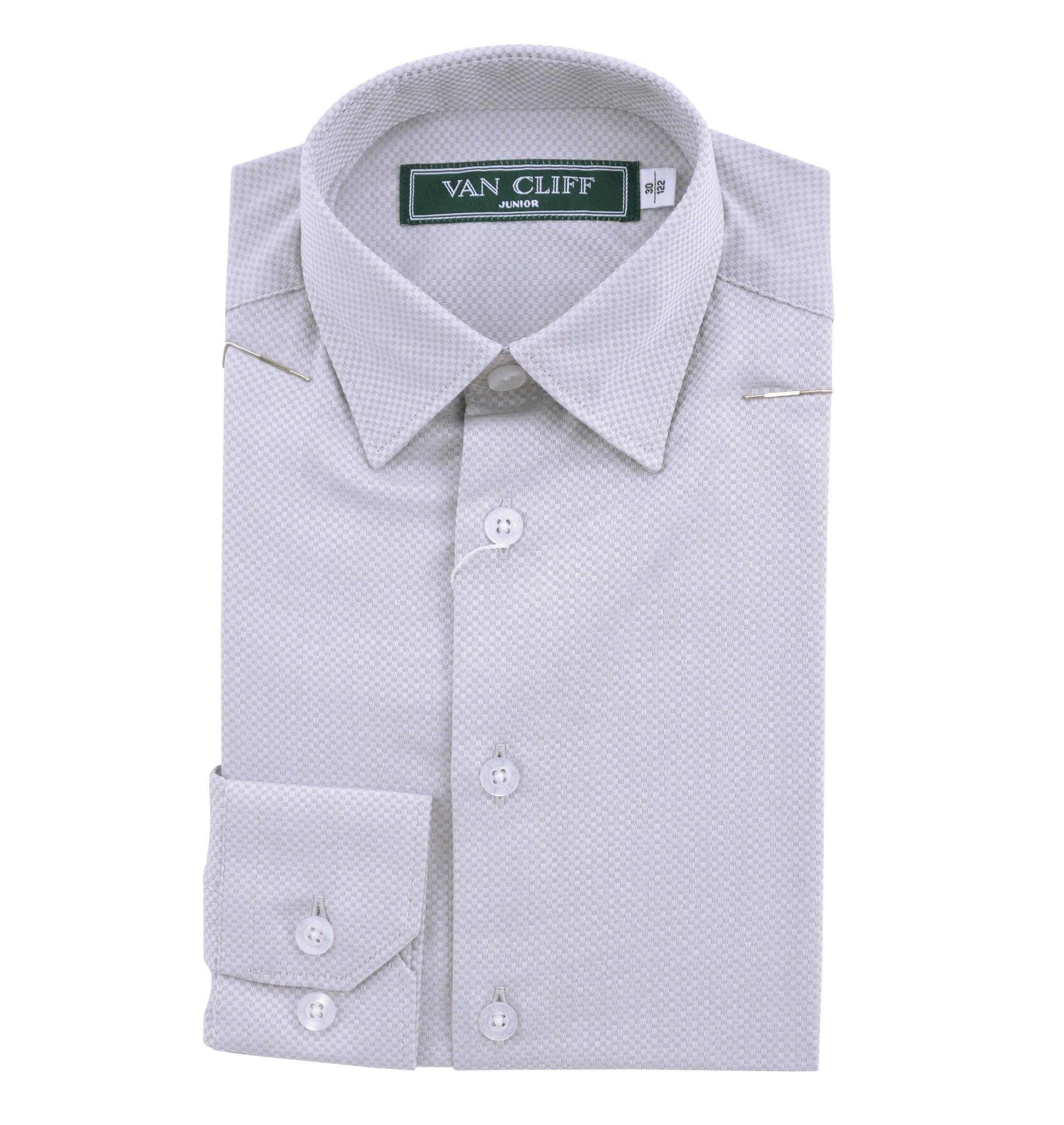 Рубашка для мальчика YSVC16571сер
