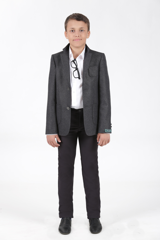 Пиджак подростковый YSVCА91020сер