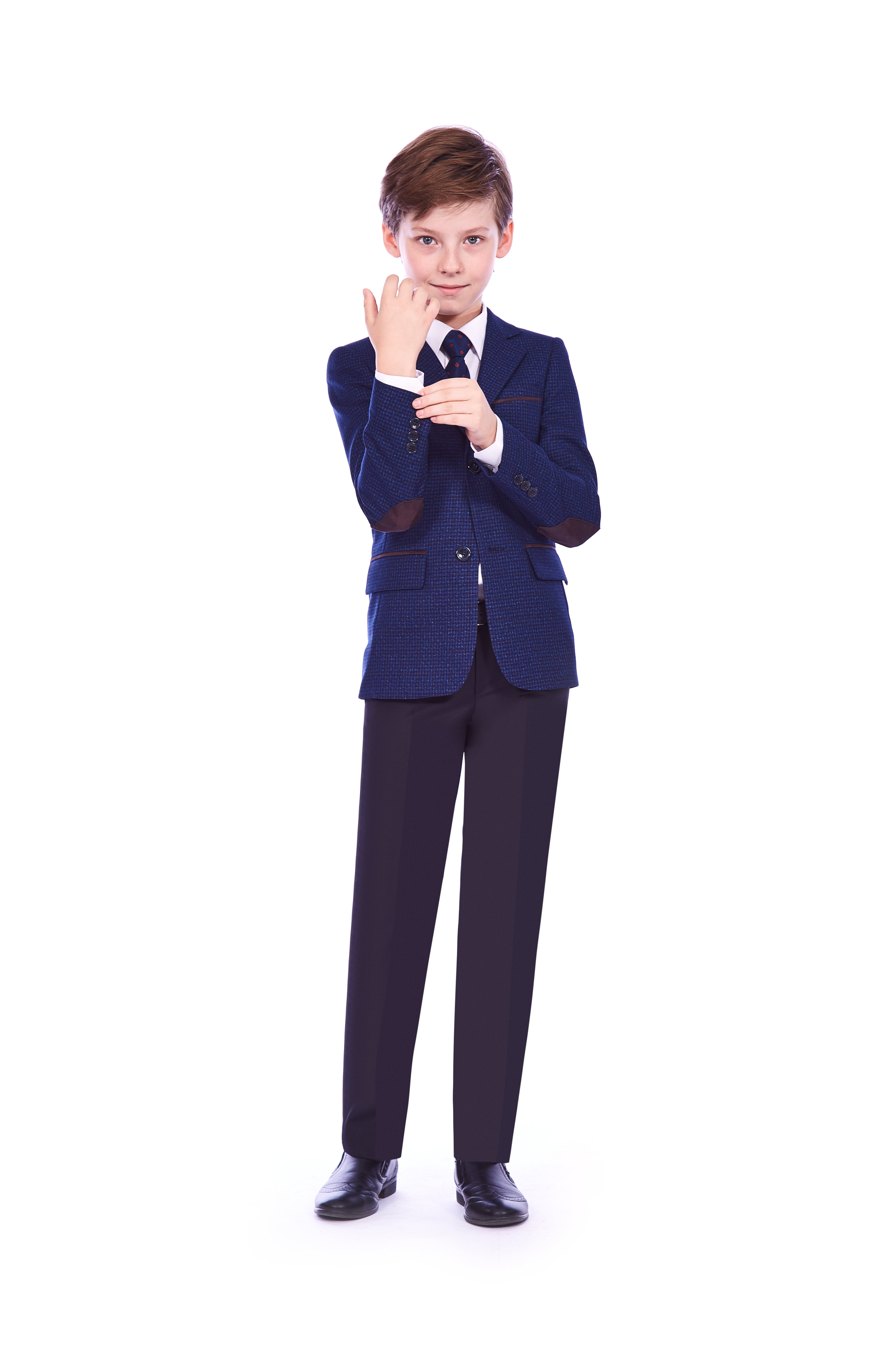 Пиджак подростковый YSVCА91168син