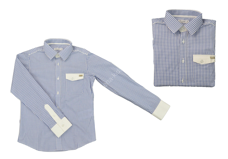 Рубашка для мальчика DSDS717005син