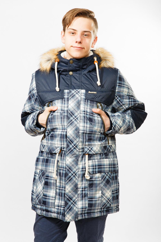 Куртка для мальчика YSPX-КД954син
