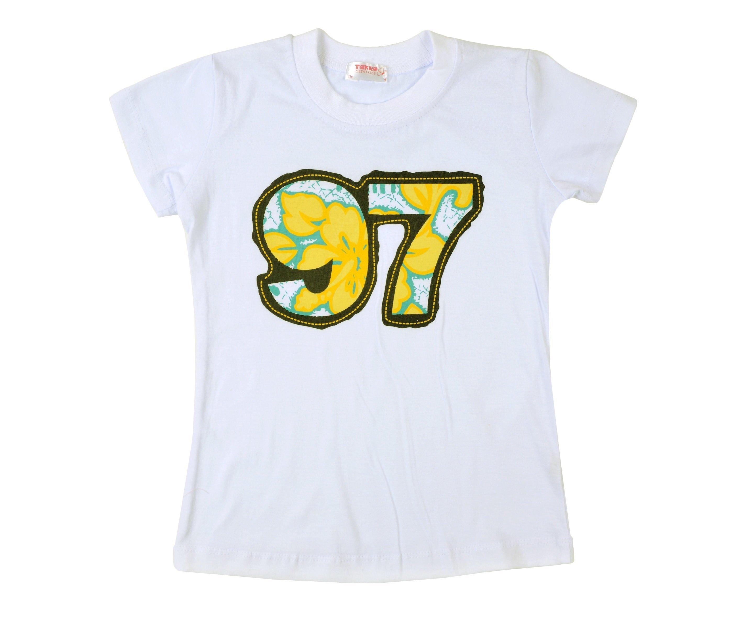 Футболка для девочки ALLTR01RK-6-9-B