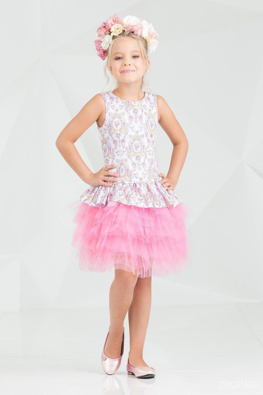Платье для девочки ALLZR38-7011