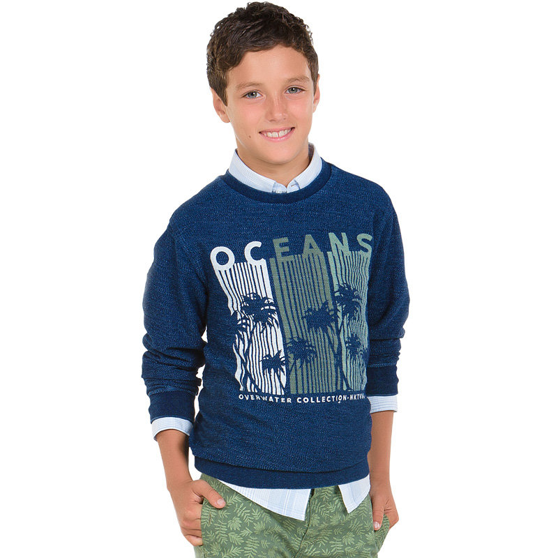 Пуловер для мальчика DSMR6432