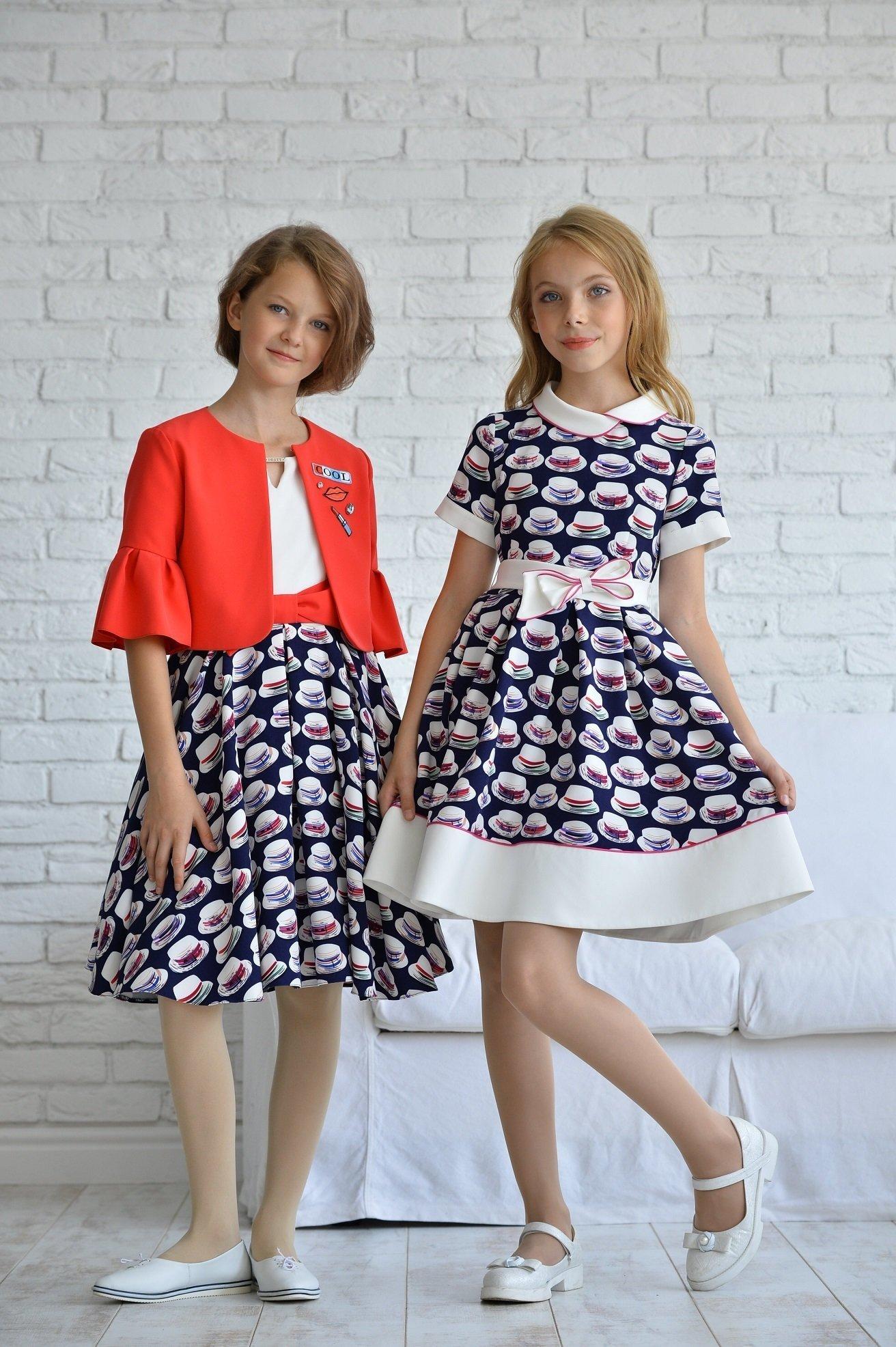Платье для девочки ALLDT364