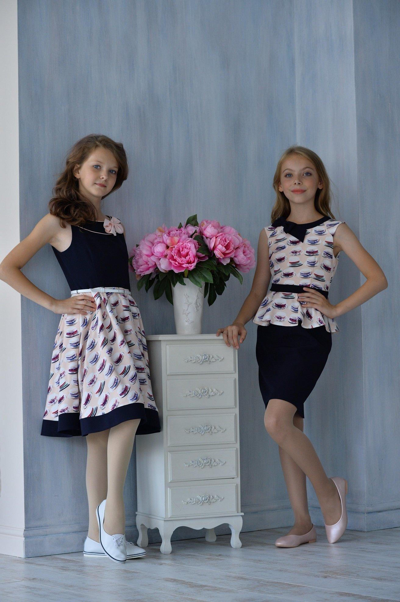 Платье для девочки ALLDT373