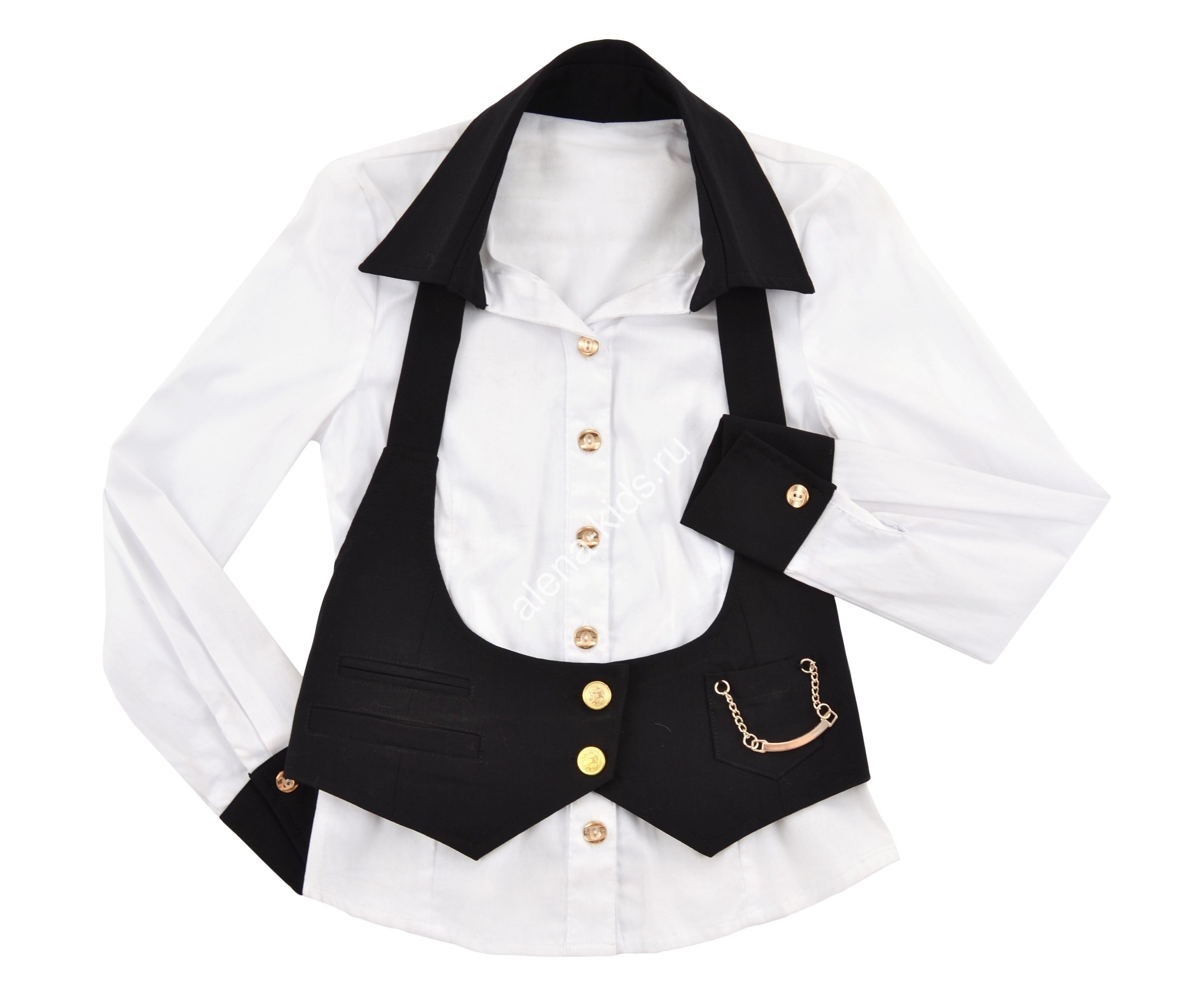 Блузка для девочки ALLDS98378