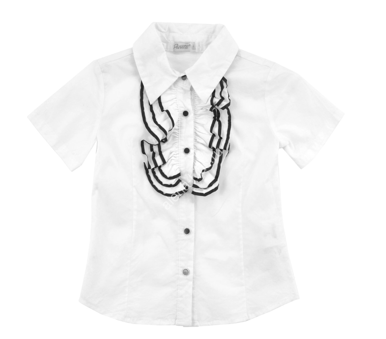 Блузка с коротким рукавом для девочки ALLDS98914