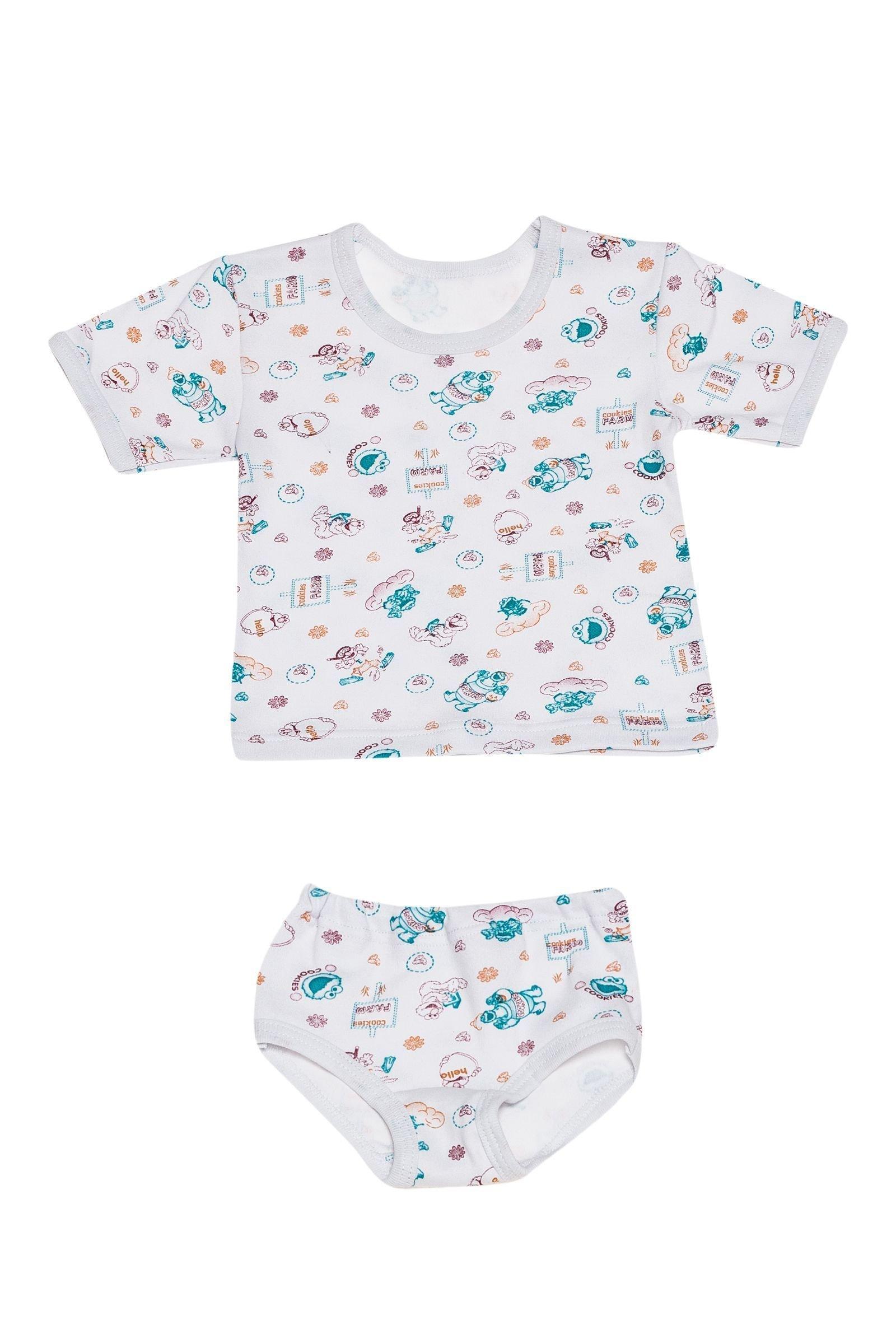 Комплект детский: футболка и трусы