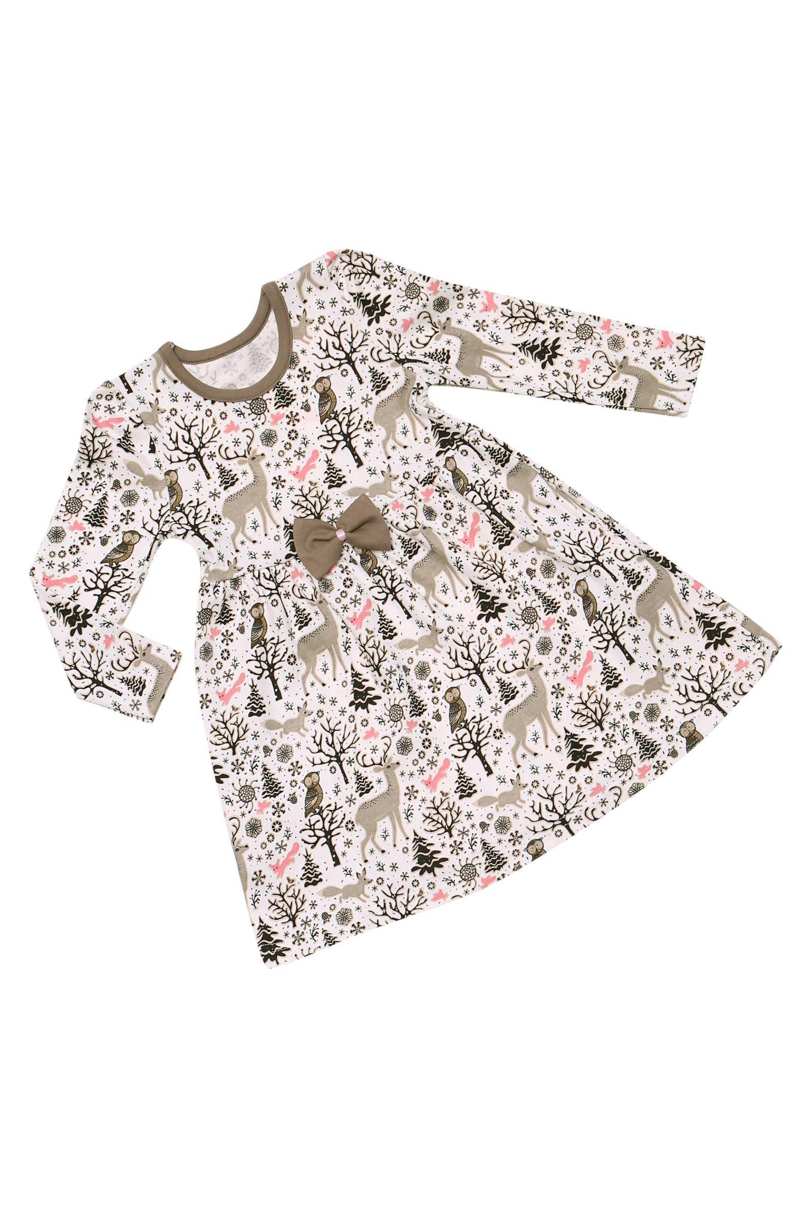 Платье для девочки ALLAL01-2480-2