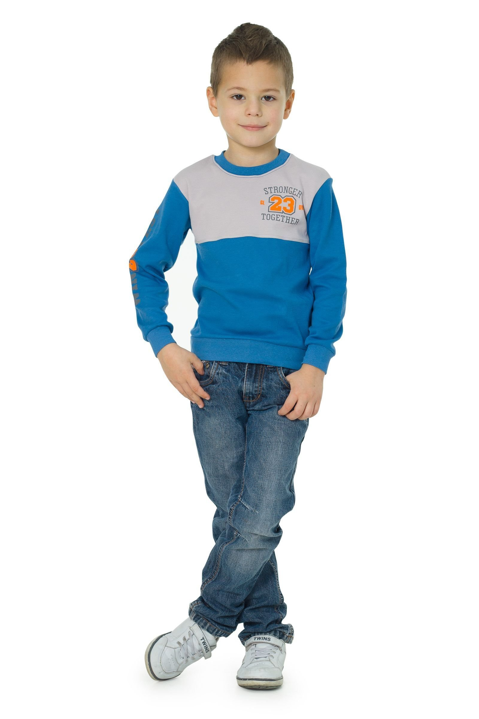 Джемпер для мальчика ALLAL01-2551