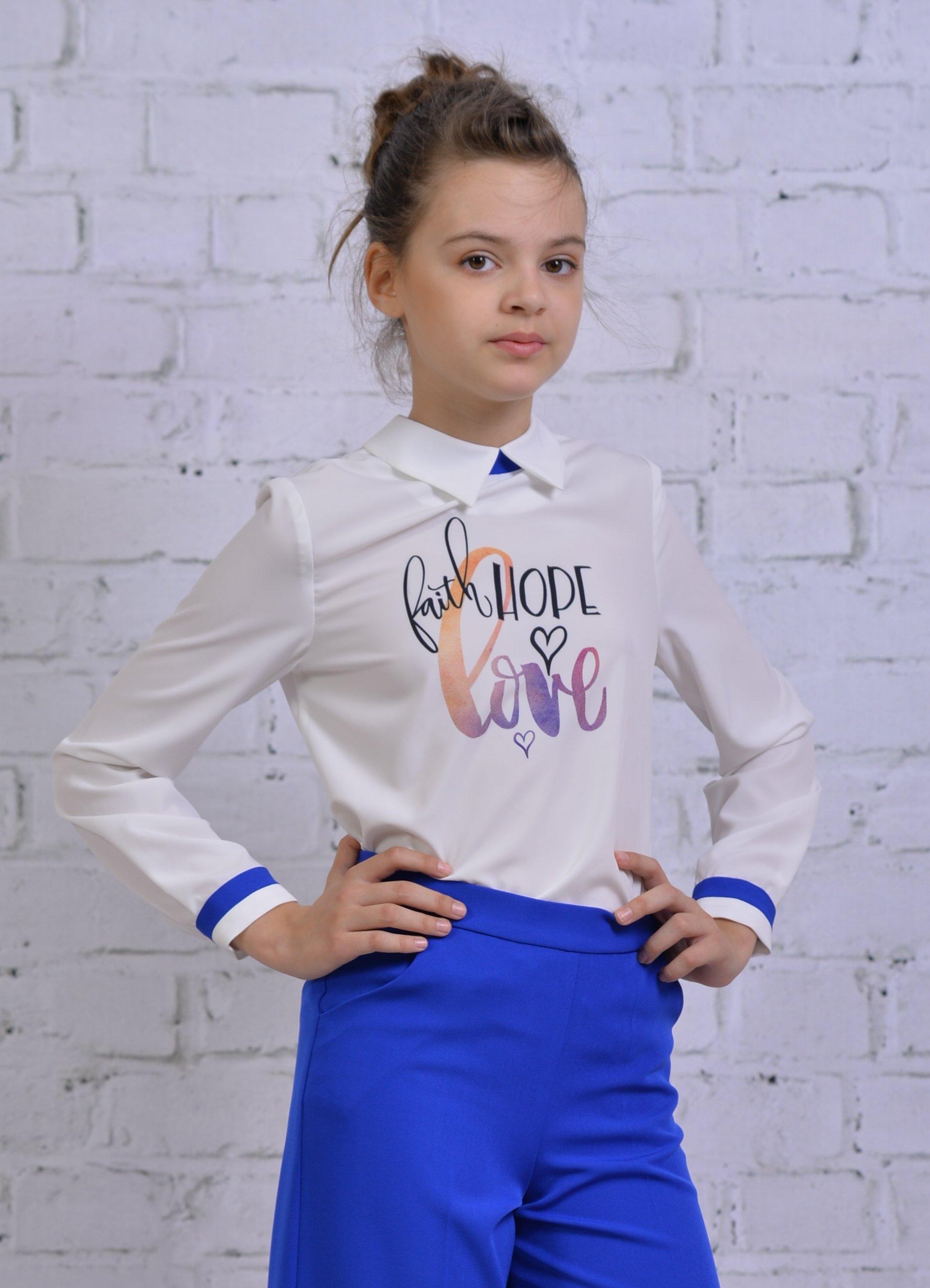 Блузка для девочки DSDT049