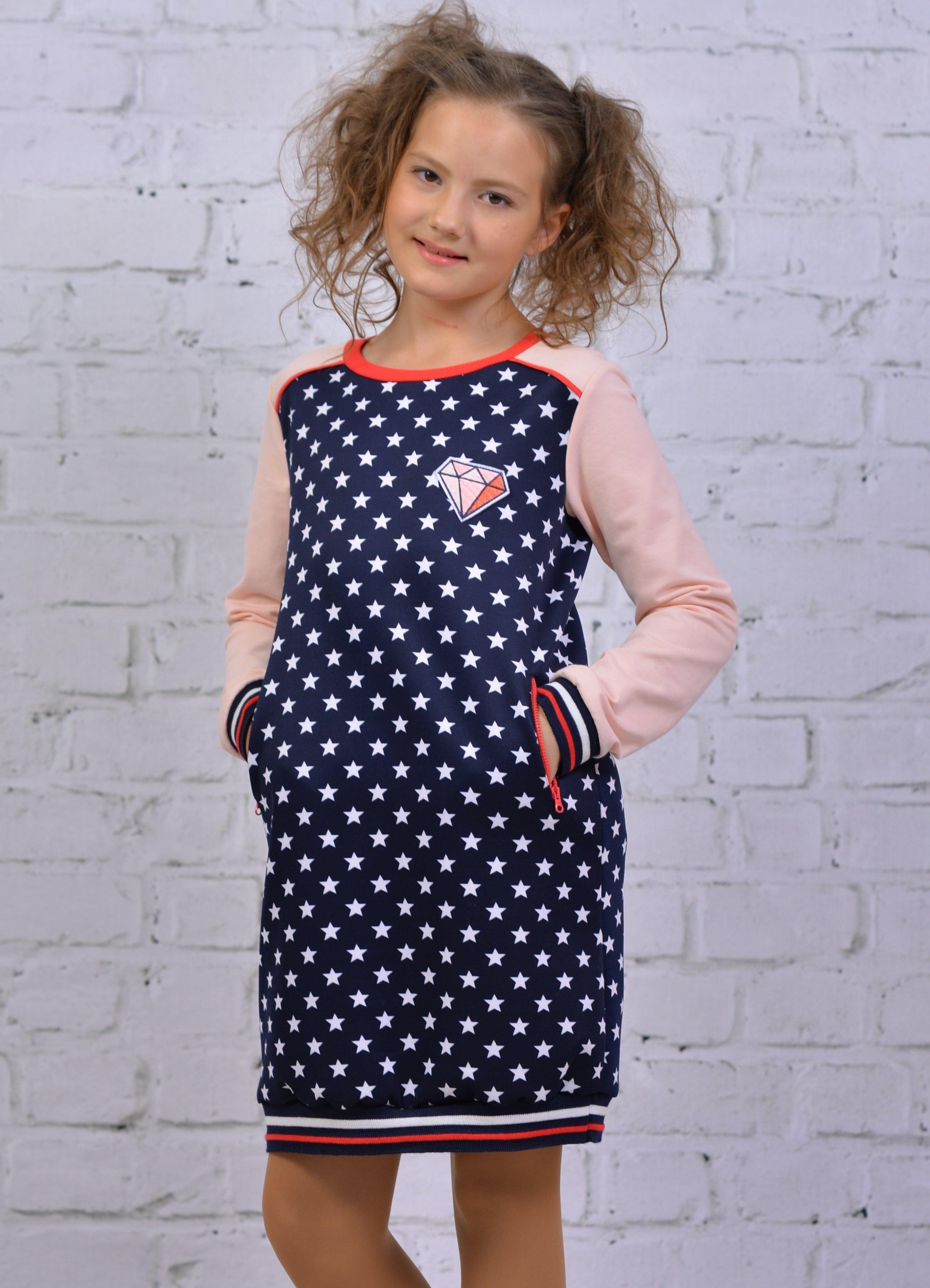 Платье для девочки ALLDT121