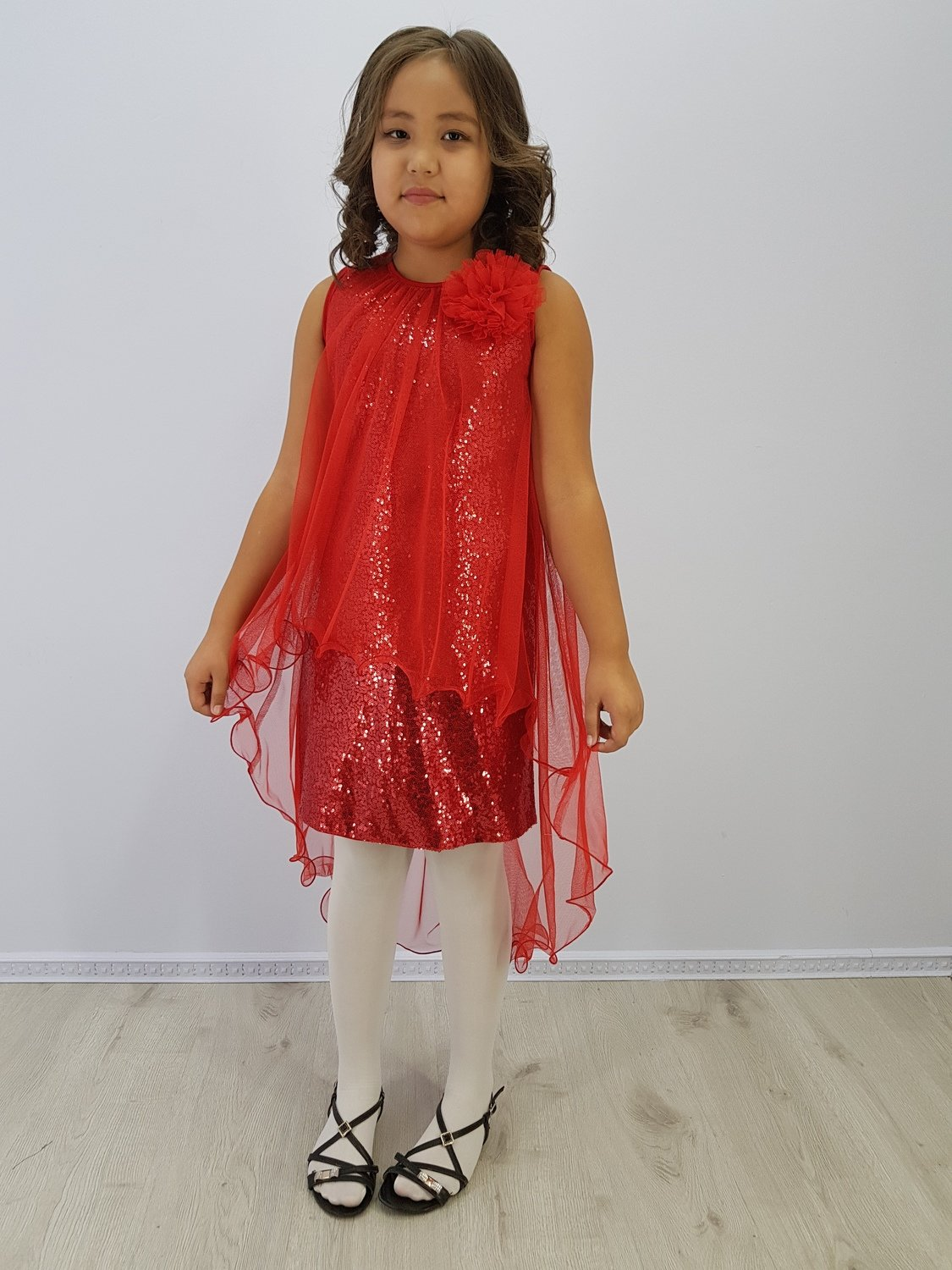 Платье для девочки Флора