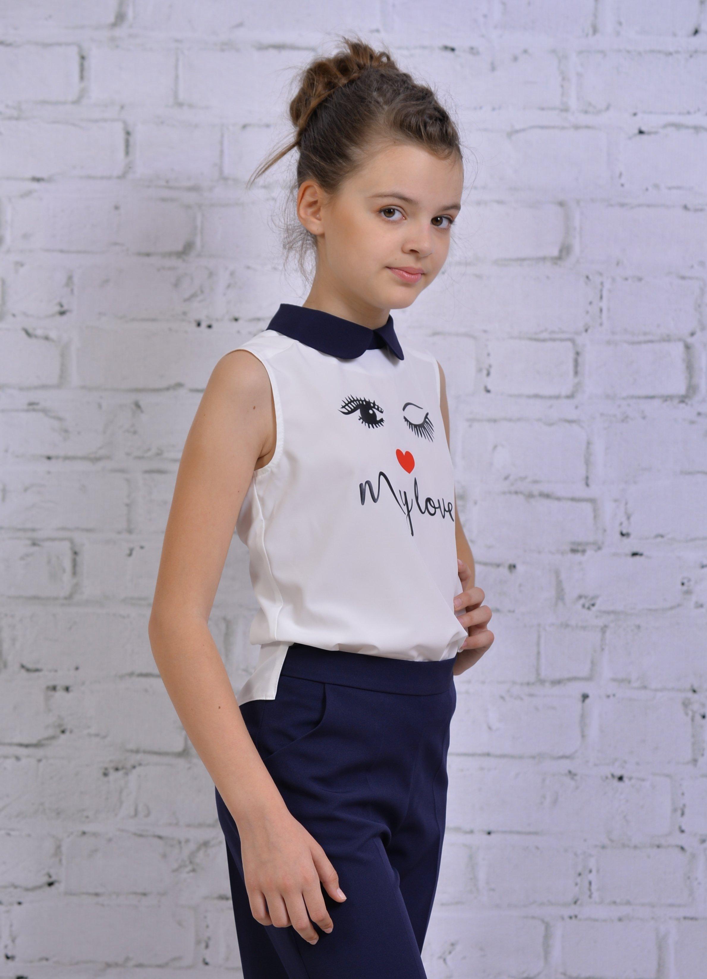 Блузка для девочки YGDT038