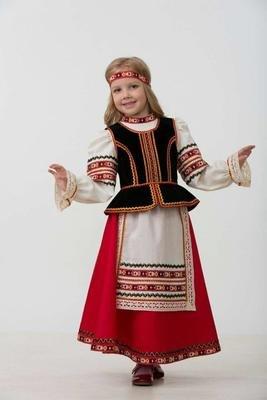 Славянский костюм (девочка)