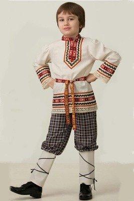 Славянский костюм рубашка вышиванка (мальчик)