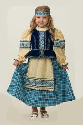 Народный костюм (девочка)