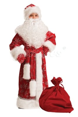 Дед Мороз велюрв детский