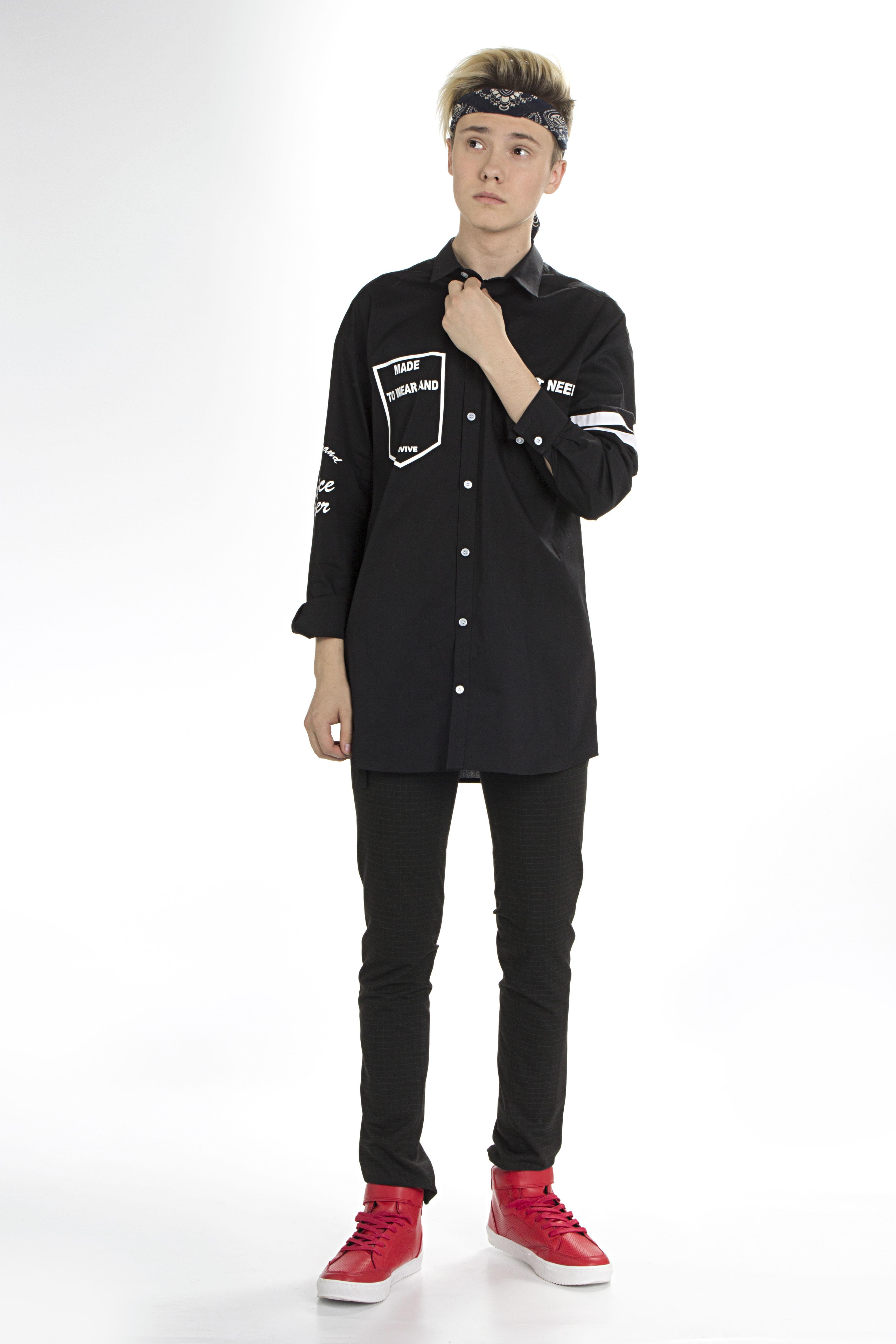 Рубашка для мальчика DSSB159-01A