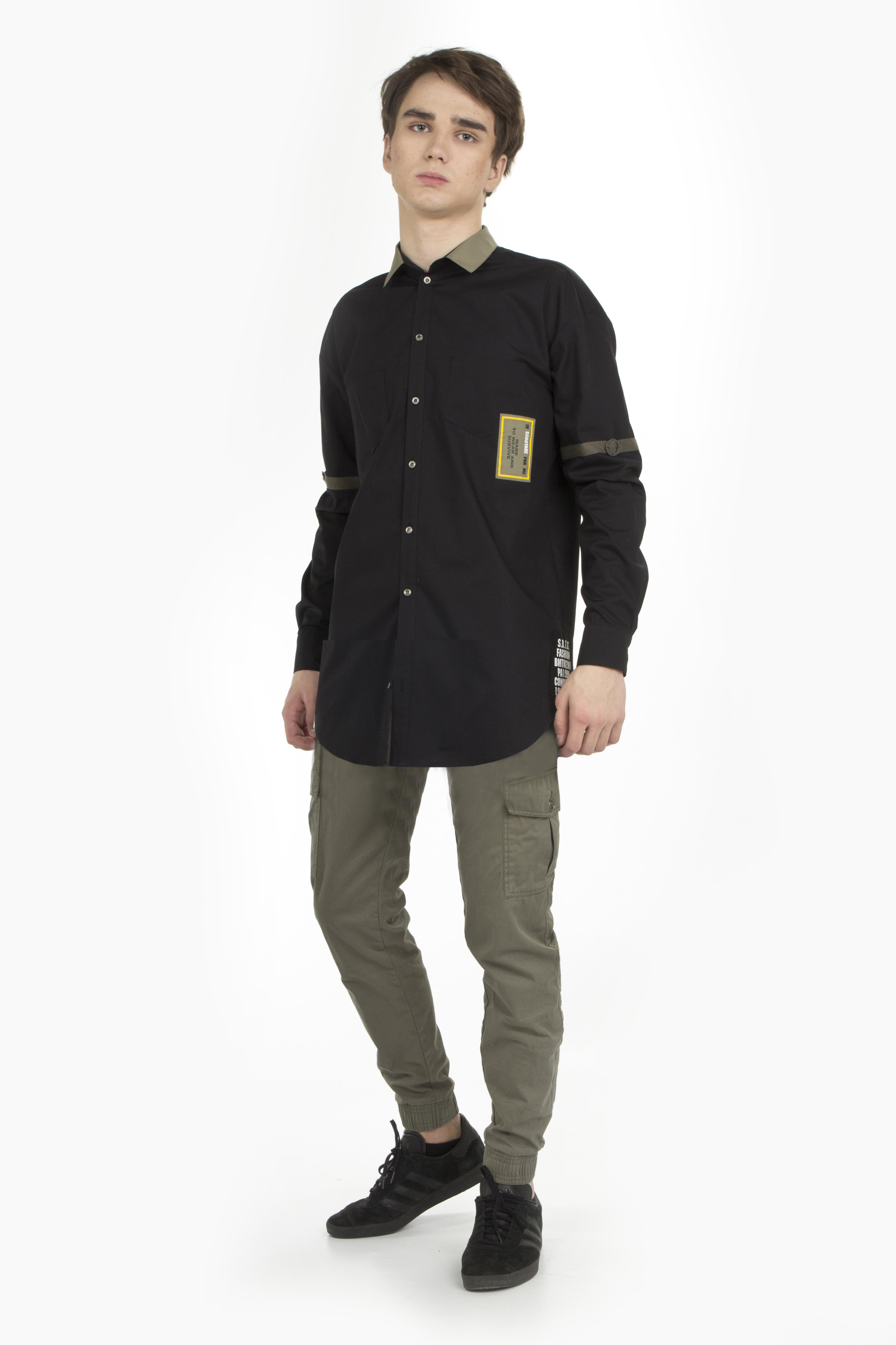 Рубашка для мальчика BHSB026-01A
