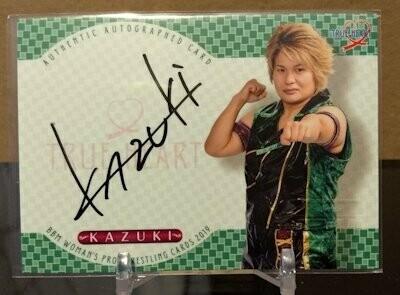 KAZUKI 2019 BBM Joshi True Heart Autograph /99