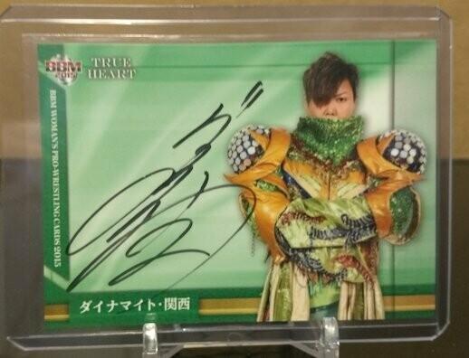 Dynamite Kansai 2015 BBM Joshi True Heart Autograph /99