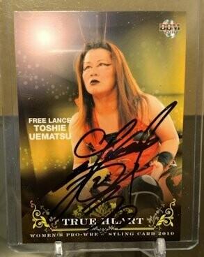Toshie Uematsu 2010 BBM Joshi True Heart Autograph /100
