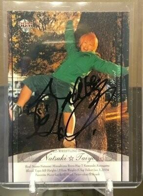 Natsuki Taiyo 2007 BBM Joshi True Heart Autograph /93