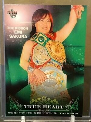 Emi Sakura 2010 BBM Joshi True Heart Base Card