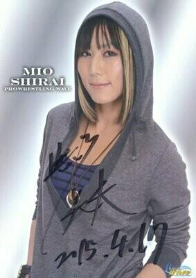 Mio Shirai Signed Photograph (A4 Size)