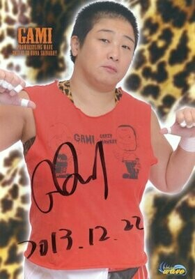 GAMI Signed Photograph (A4 Size)