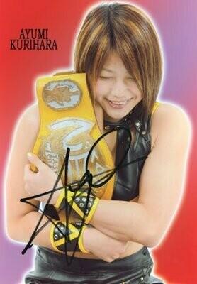 Ayumi Kurihara Signed Photograph (A4 Size)