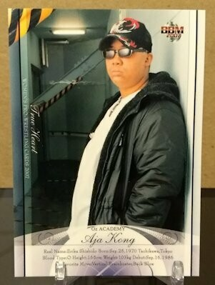 Aja Kong 2007 BBM Joshi True Heart Base Card
