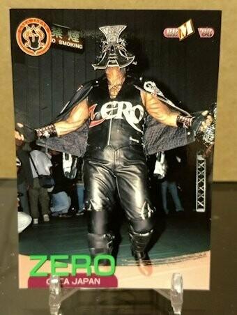Zero (Chigusa Nagayo) 1998 BBM Base Card