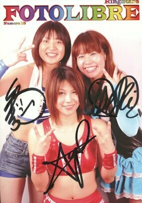 SIGNED RingStars Foto Libre #15 Photobook